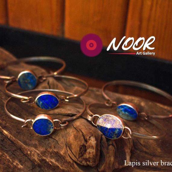 Lapis Lazuli silver bracelets