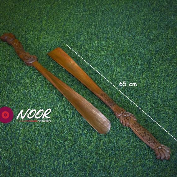 Handmade carved shoehorn